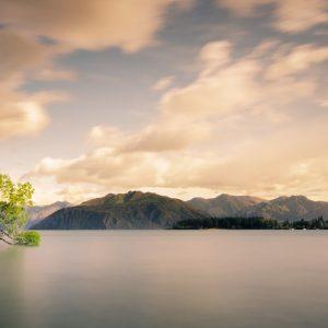 lac Wanaka en Nouvelle-Zélande